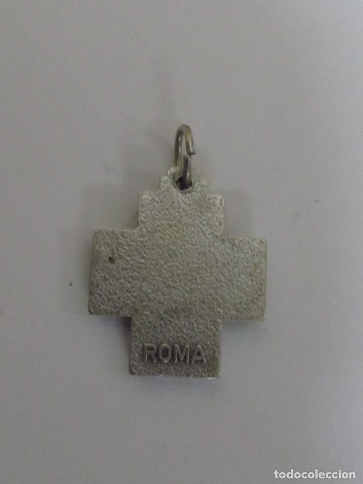 Antigüedades: CRUZ PLATEADA, ROMA - Foto 2 - 102204959