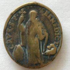 Antigüedades: MEDALLA DE SAN BENEDICTO. Lote 102209071