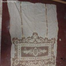 Antigüedades: GRAN CORTINA XIX BORDADOS. Lote 102265991