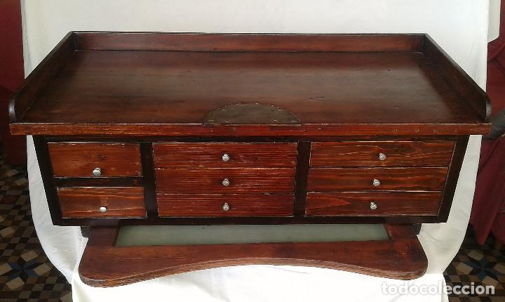 Mueble antiguo de joyero de madera restaurado comprar - Muebles de madera antiguos ...