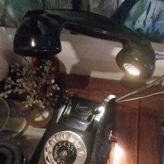 Antigüedades: PIEZA ÚNICA. TELÉFONO LÁMPARA. ERICSON 1957. PAISES BAJOS. CON LUZ LED ADAPTADOR ON/OFF. Lote 102282719