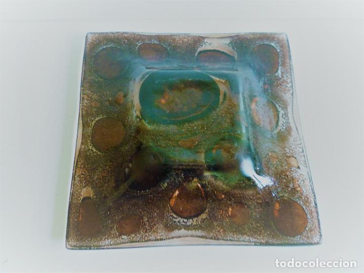 Antigüedades: VACIABOLSILLOS CENTRO DE MESA EN VIDRIO SOPLADO - Foto 3 - 102407591