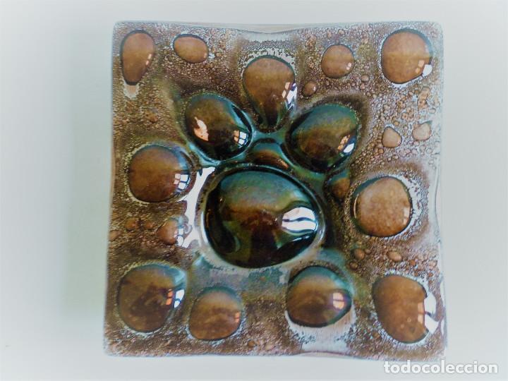 Antigüedades: VACIABOLSILLOS CENTRO DE MESA EN VIDRIO SOPLADO - Foto 5 - 102407591