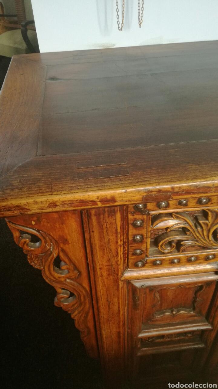Antigüedades: Taquillon de madera dura - Foto 3 - 102415772