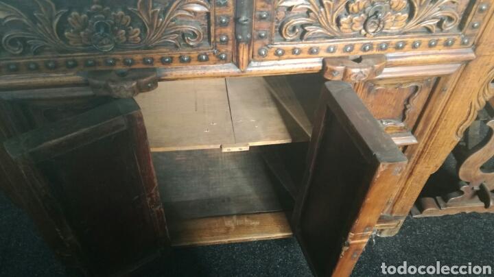 Antigüedades: Taquillon de madera dura - Foto 6 - 102415772