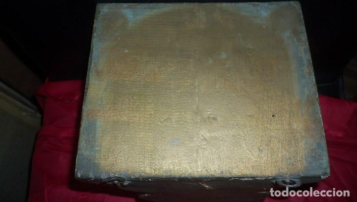 Antigüedades: PEANA EN ESCAYOLA y MADERA DORADA - Foto 5 - 102428011