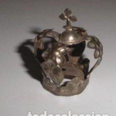 Antigüedades: CORONA EN LATÓN PARA VIRGEN O SANTO. Lote 102440647