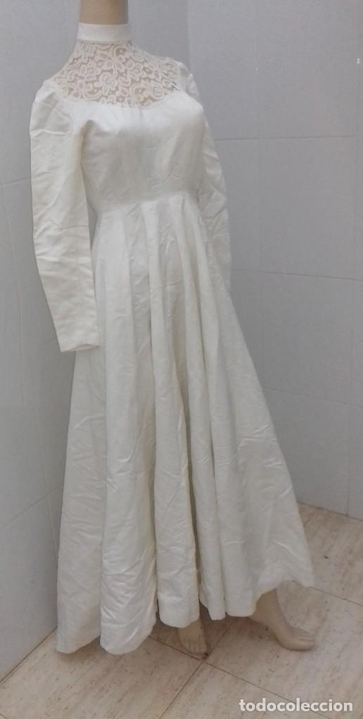 vestido de novia años 40. - comprar moda antigua de mujer en