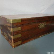 Antigüedades: CAJA INGLESA DEL SIGLO XIX. Lote 102482320