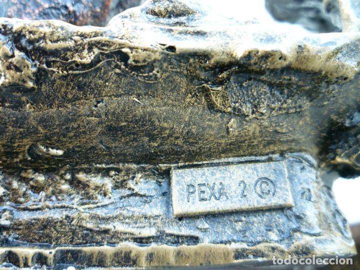 Antigüedades: ESCULTURA DE RESINA DE CREACIONES ARTISTICAS PEXA-2 CON AMBIENTE DE FONDO MARINO CON ANFORA Y DELFIN - Foto 8 - 102488123