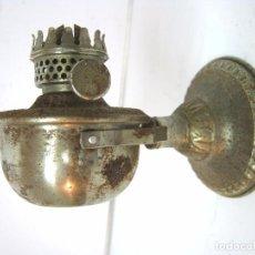 Antigüedades: ANTIGUO QUINQUE METAL 2 POSICIONES DOC'S HONG KONG. Lote 102498527