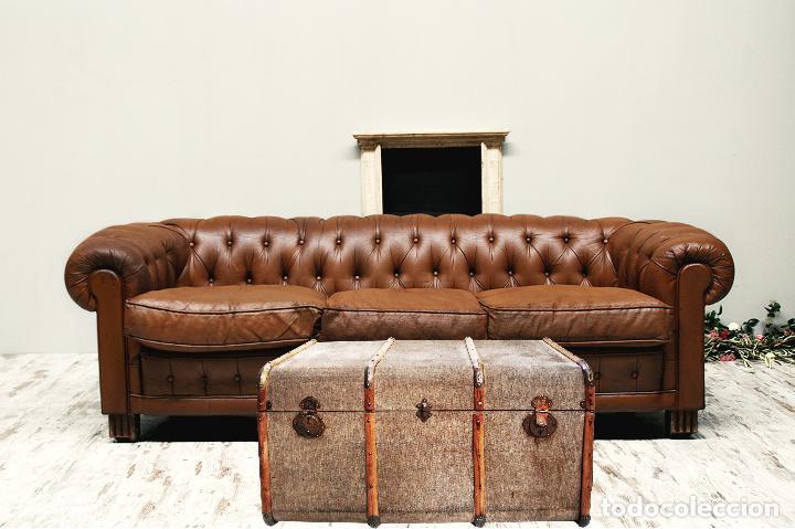 Arcon baul tela madera transporte gratis comuni comprar for Transporte muebles madrid