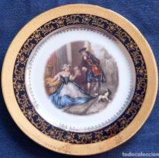 Antigüedades: PLATO EN PORCELANA LIMOGES FRANCIA. Lote 102507183