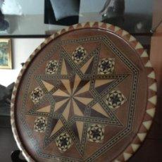 Antigüedades: BANDEJA DE TARACEA GRANADINA. Lote 102514327