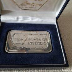 Antigüedades - Lingote de plata pura. - 102535854