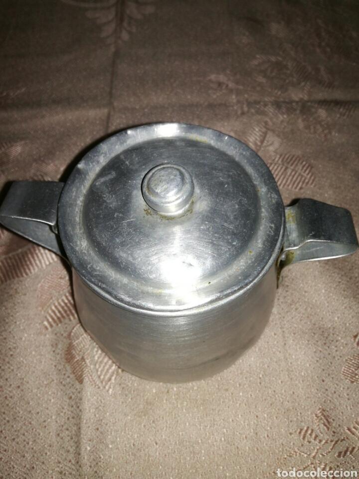 Antigüedades: Antiguo azucarero de aluminio - Foto 2 - 102543183