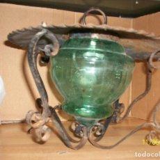 Antigüedades: ANTIGUA LAMPARA DE TECHO. Lote 102549131