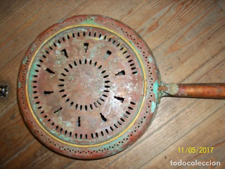 Antigüedades: ANTIGUO BRASERO/CALENTADOR PARA CAMAS - Foto 2 - 102549475