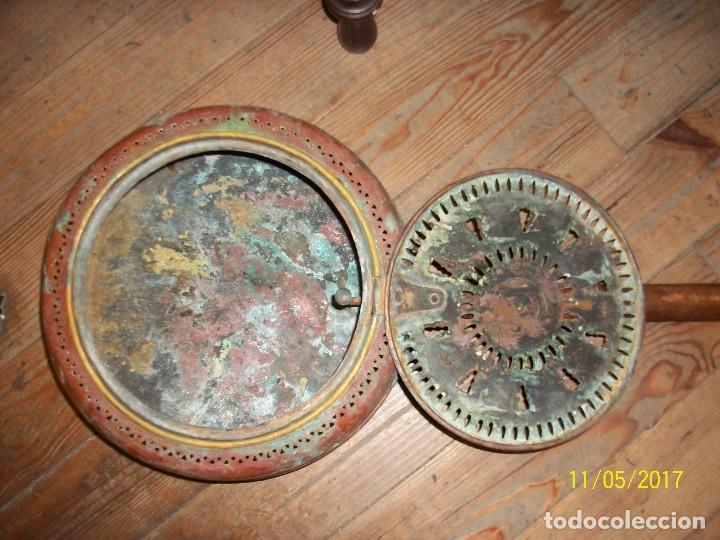 Antigüedades: ANTIGUO BRASERO/CALENTADOR PARA CAMAS - Foto 3 - 102549475