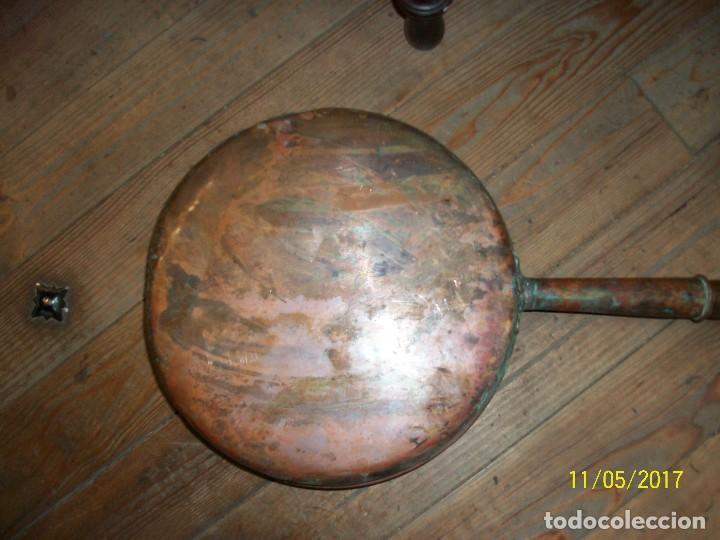 Antigüedades: ANTIGUO BRASERO/CALENTADOR PARA CAMAS - Foto 5 - 102549475