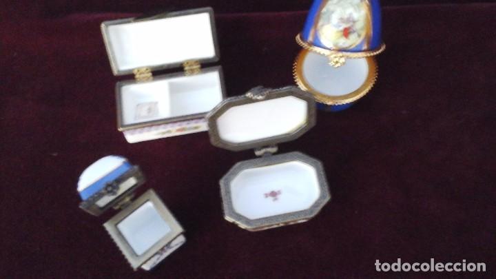 Antigüedades: Cuatro cajitas en porcelana fina , actuales - Foto 3 - 165648016