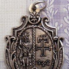 Antigüedades: SEMANA SANTA DE JACA, MEDALLA COFRADIA ENTRADA DE JESUS EN JERUSALEN. Lote 102573499