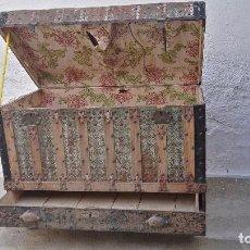 Antigüedades: BAÚL CON CAJÓN. Lote 102583215