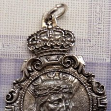 Antigüedades: SEMANA SANTA DE BARBASTRO, MEDALLA COFRADIA NTRO.PADRE JESUS NAZARENO Y LA VERONICA. Lote 102583435