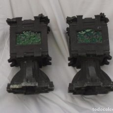 Antigüedades: LAMPARAS FUNERARIAS DE BRONCE PARA VELAS . Lote 102587071