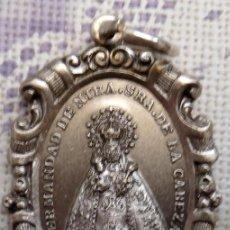Antigüedades: ZUJAR, GRANADA, MEDALLA DE LA HERMANDAD DE NTRA.SRA.DE LA CABEZA, 35X50MM. Lote 102595595