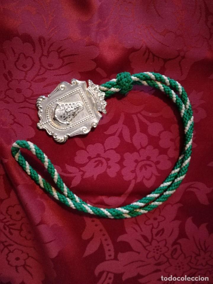MEDALLA HERMANDAD ROCIO ROTA (Antigüedades - Religiosas - Medallas Antiguas)