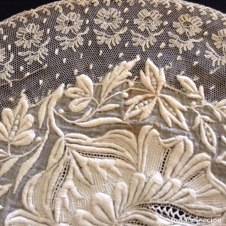 BORDADO MARAVILLOSO 1900 (Antigüedades - Moda - Bordados)