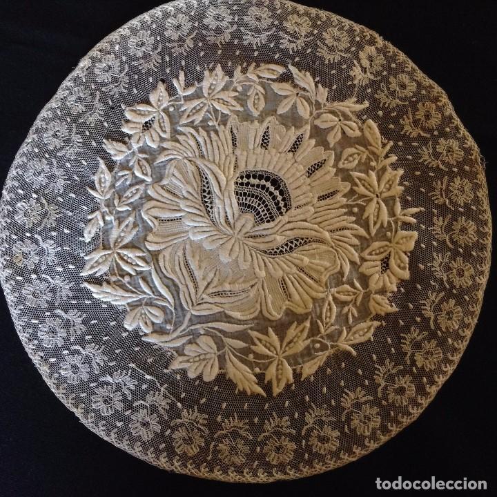 Antigüedades: Bordado maravilloso 1900 - Foto 2 - 131865347