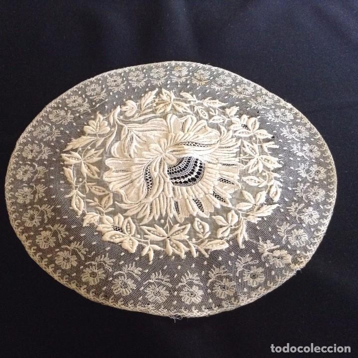 Antigüedades: Bordado maravilloso 1900 - Foto 6 - 131865347
