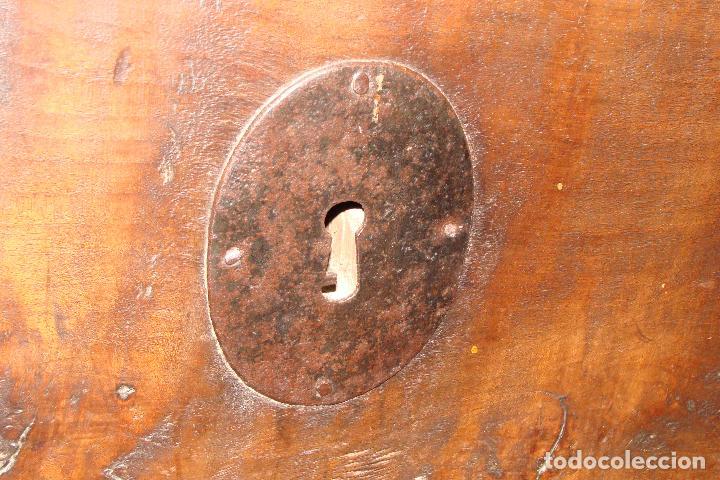 Antigüedades: Arcón de dos cerraduras - Siglo XIX - Foto 3 - 102624235