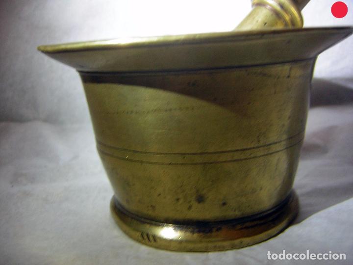 Antigüedades: ALMIREZ DE BRONCE ANTIGUO, SOBRE EL S XIX - Foto 3 - 102630967
