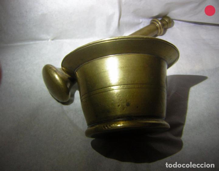 Antigüedades: ALMIREZ DE BRONCE ANTIGUO, SOBRE EL S XIX - Foto 4 - 102630967