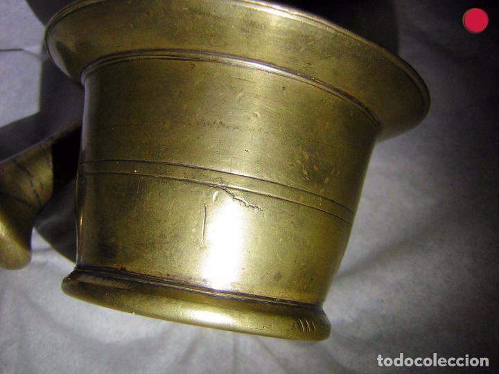 Antigüedades: ALMIREZ DE BRONCE ANTIGUO, SOBRE EL S XIX - Foto 5 - 102630967