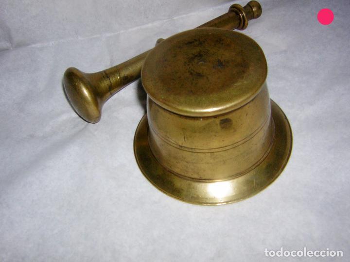 Antigüedades: ALMIREZ DE BRONCE ANTIGUO, SOBRE EL S XIX - Foto 6 - 102630967