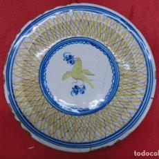 Antigüedades: FUENTE DE LOZA DE RIBESALBES. Lote 102632031