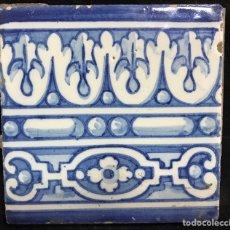 Antigüedades: AZULEJO RUIZ DE LUNA DE TALAVERA. Lote 102632762