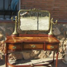 Antigüedades: CONSOLA ANTIGUA CON ESPEJO. Lote 102634699