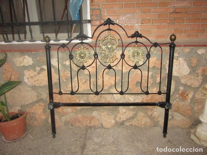Antigüedades: CABECERO DE FORJA - Foto 2 - 102635327