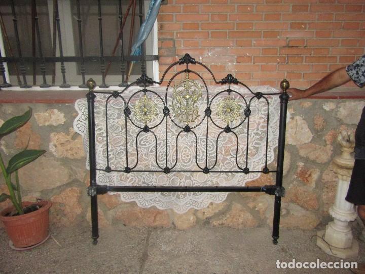 Antigüedades: CABECERO DE FORJA - Foto 3 - 102635327