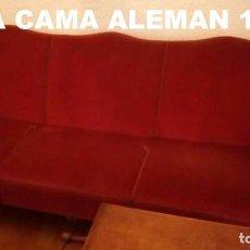 Antigüedades: SOFÁ - CAMA ALEMÁN. Lote 102636747