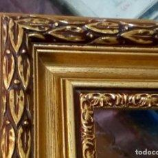 Antigüedades: EXCELENTE MOLDURA DE BUENA CALIDAD. PARA 61X50 (F12). A ESTRENAR.. Lote 102118611