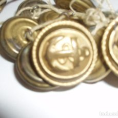 Antigüedades: AÑOS 1940 BOTONES CON ANCLAS MERCANTES. Lote 102654739