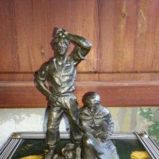 Antigüedades: FIGURA DE BRONZE .. Lote 102671067