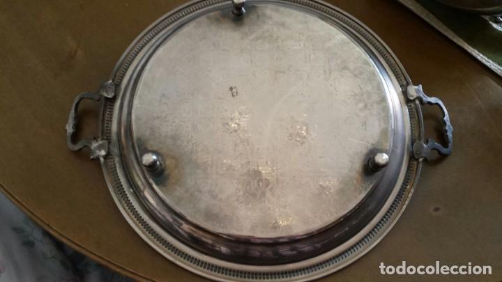 Antigüedades: ANTIGUABANDEJA ÁRABE CON PATAS. - Foto 2 - 102673211