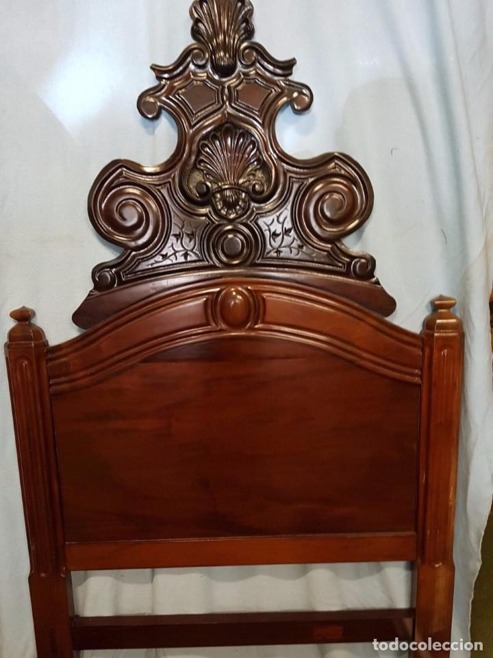 PRECIOSA CAMA DEL SIGLO XIX DE CASA PALACIO # (Antigüedades - Muebles Antiguos - Camas Antiguas)